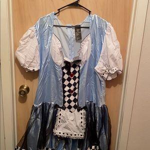 Alice in Wonderland Land Costume